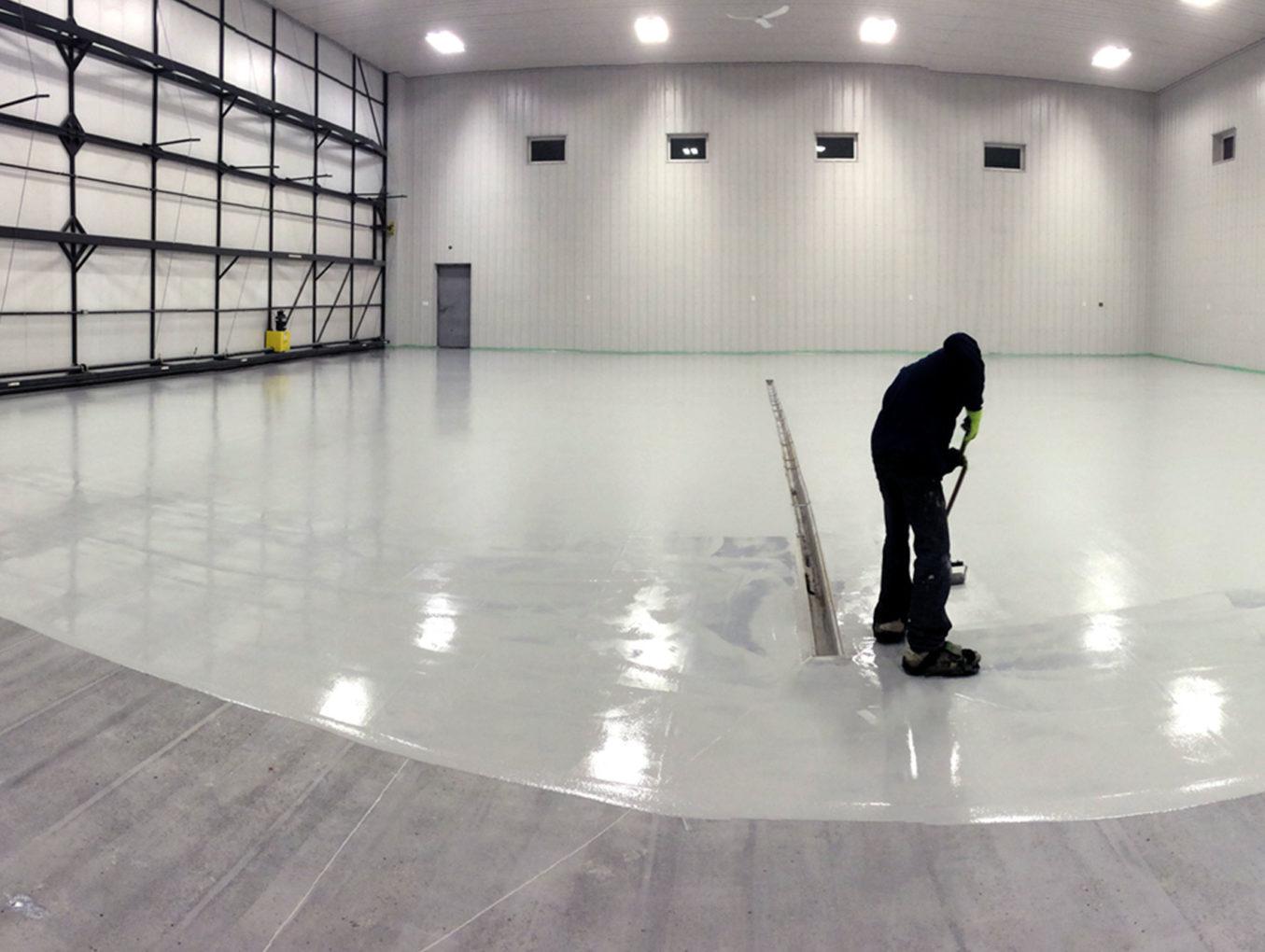 Aircraft Hanger Flooring