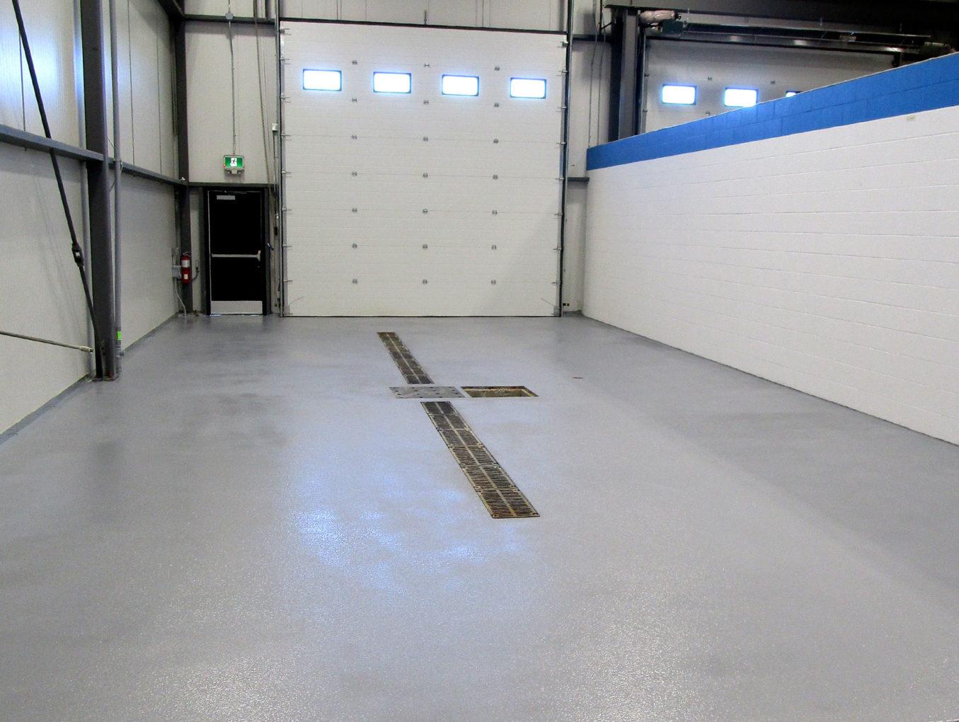 Industrial Bay Floor Coating