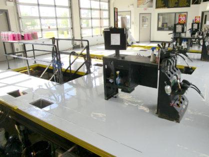 Commercial Garage Floor Coating