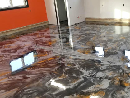 Unreal Metallic Floor Coating