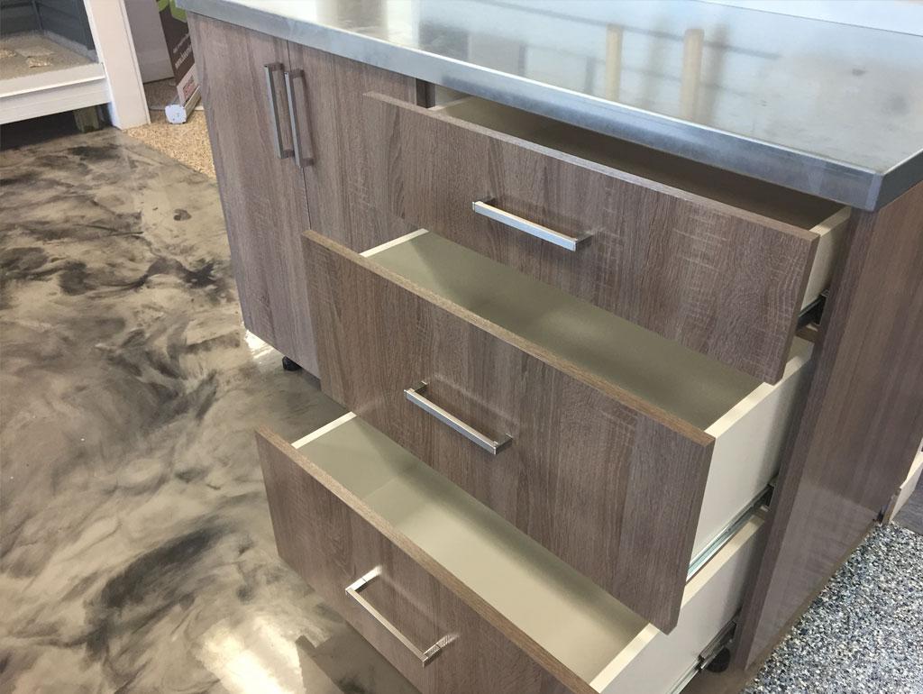 Get high end garage cabinets installed fast!