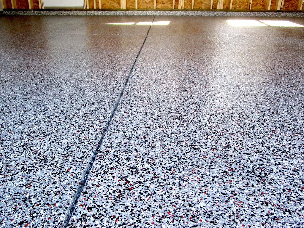 A new garage needs a new floor