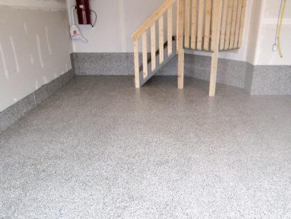 Single Garage Floor Coating