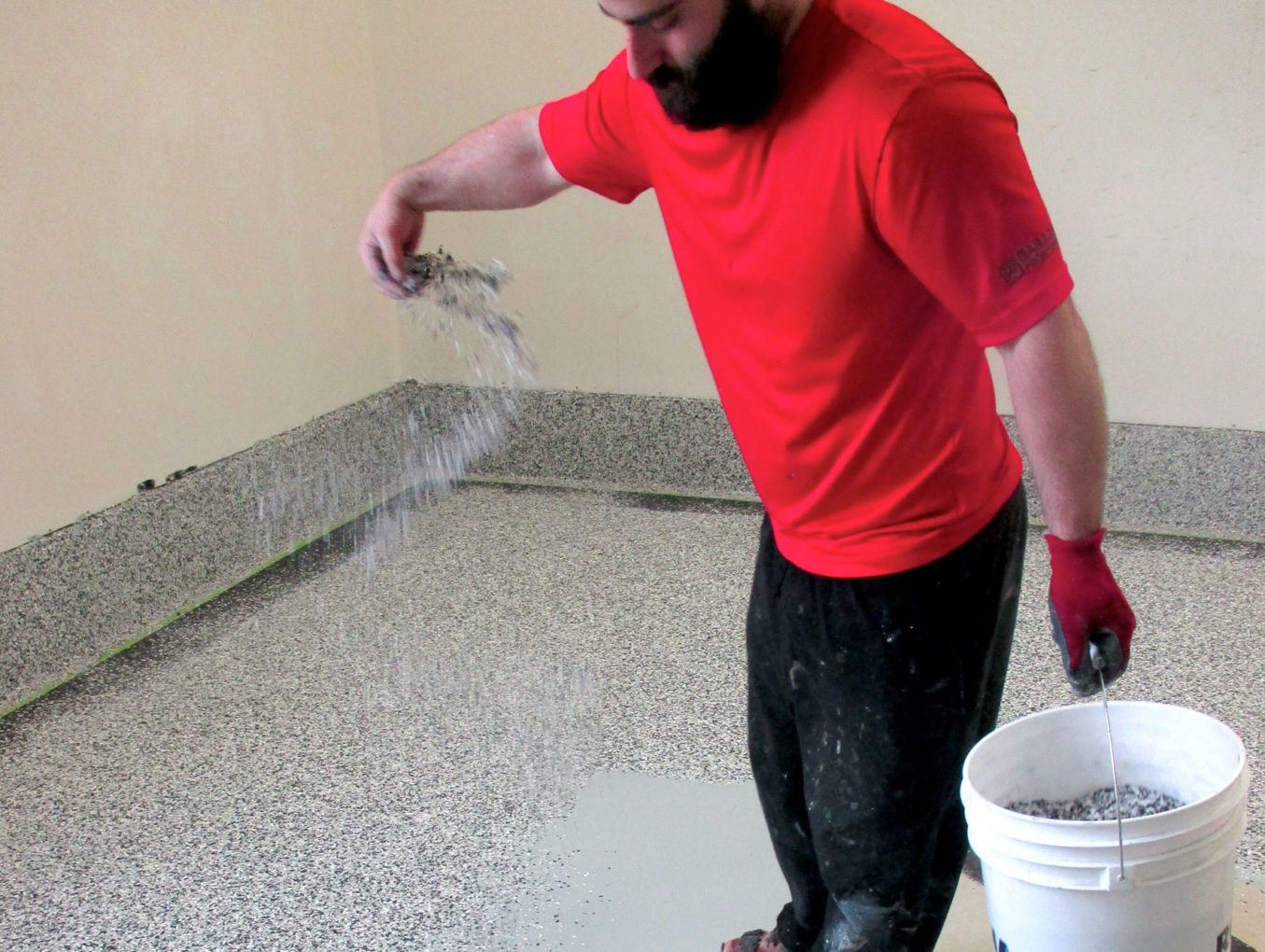 Coated Concrete Flooring