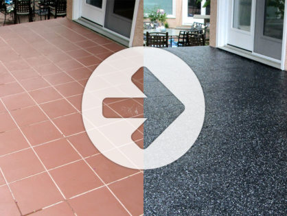 Exterior Epoxy  Patio Coating