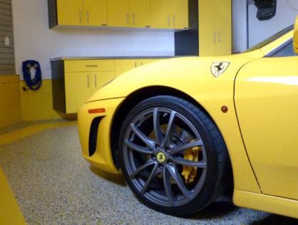 Flooring for Ferrari