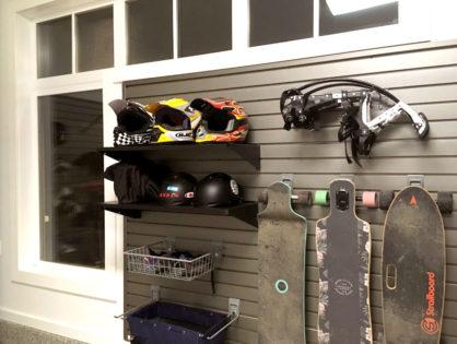 Slatwall Garage Storage