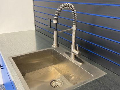 Sinks to match the garage
