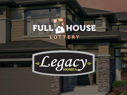 Full House Lottery Home Garage