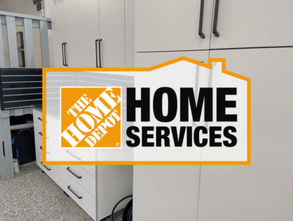 We're a licensed Home Depot contractor