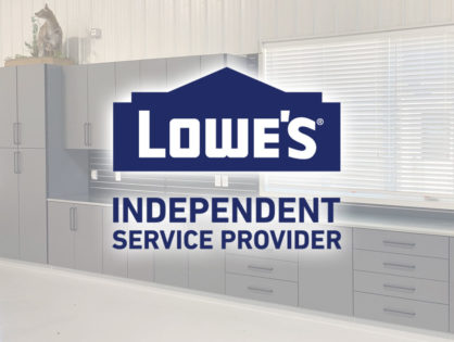 We're a Lowe's certified installer